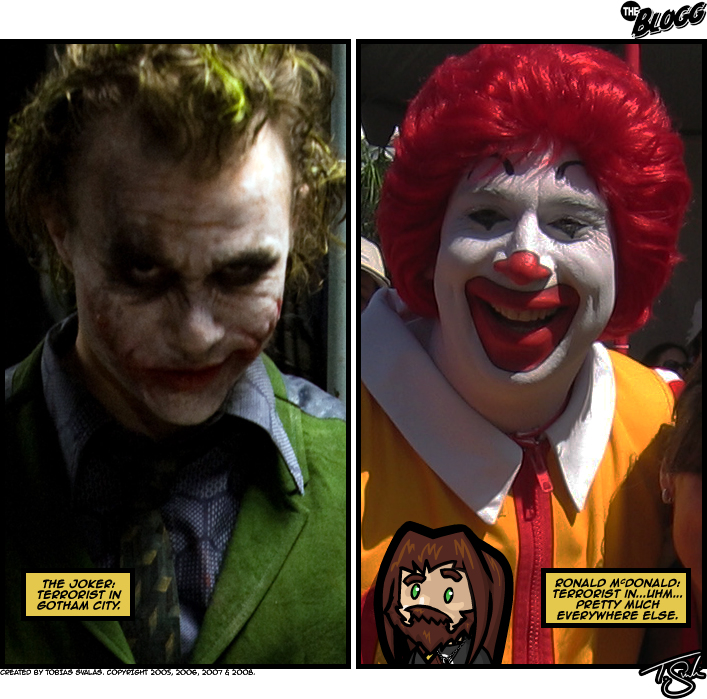 Clowns to the left of me, Jokers to the right…