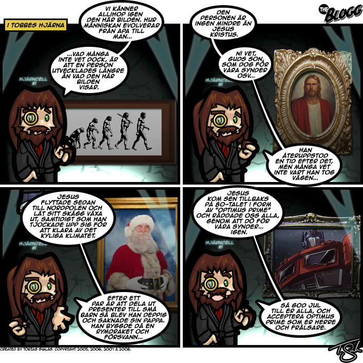 My Impecable Jesus-Theory