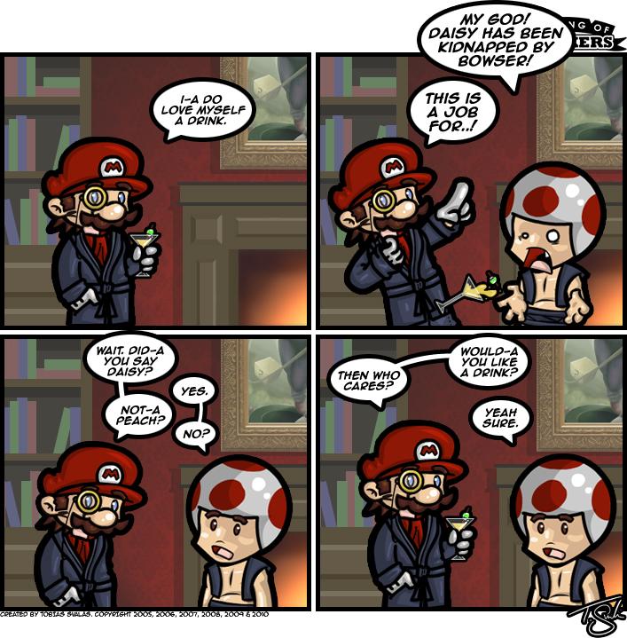 Super Classy Mario