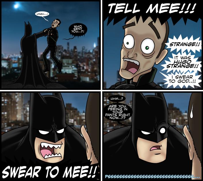 Guest Comic: Arkham City