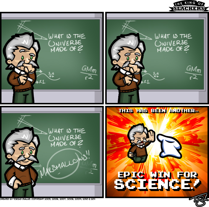 Another Epic High Five – For Science!