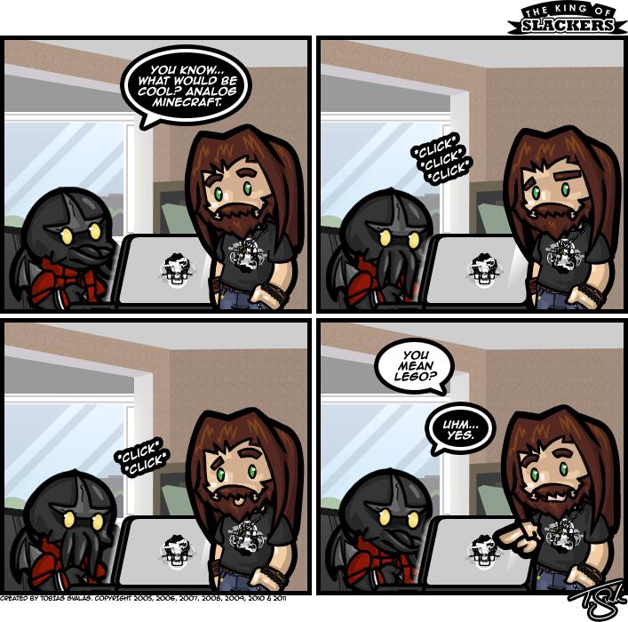 Analog Minecraft