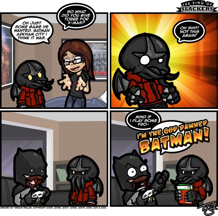 Batman Withdrawal