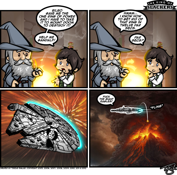 Lord Of The Rings In 12 Parsecs