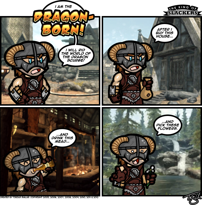 Skyrim – Epic Quest Time