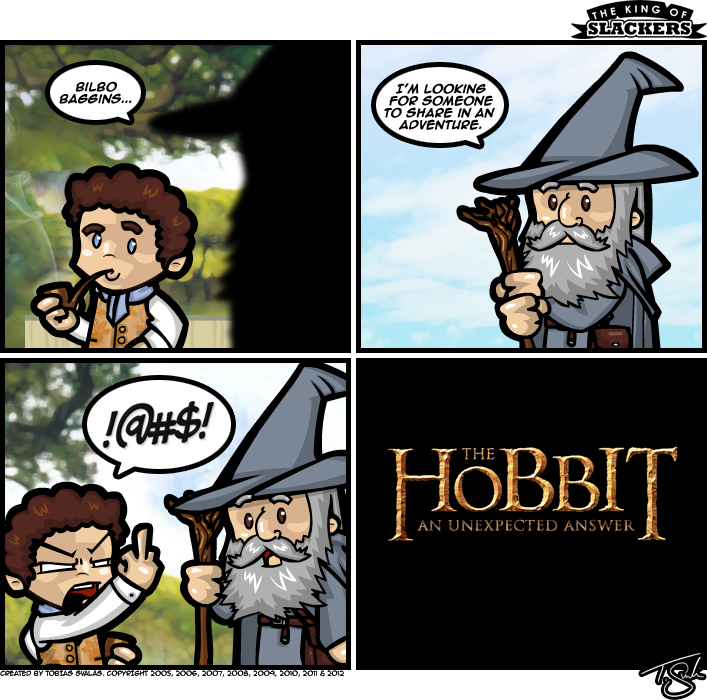 The Hobbit – An Unexpected Answer