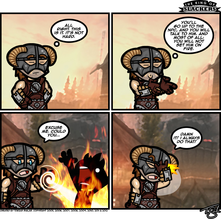 Skyrim – A Hero's Struggle