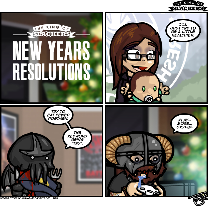 Skyrim Saga – New Year's Resolutions