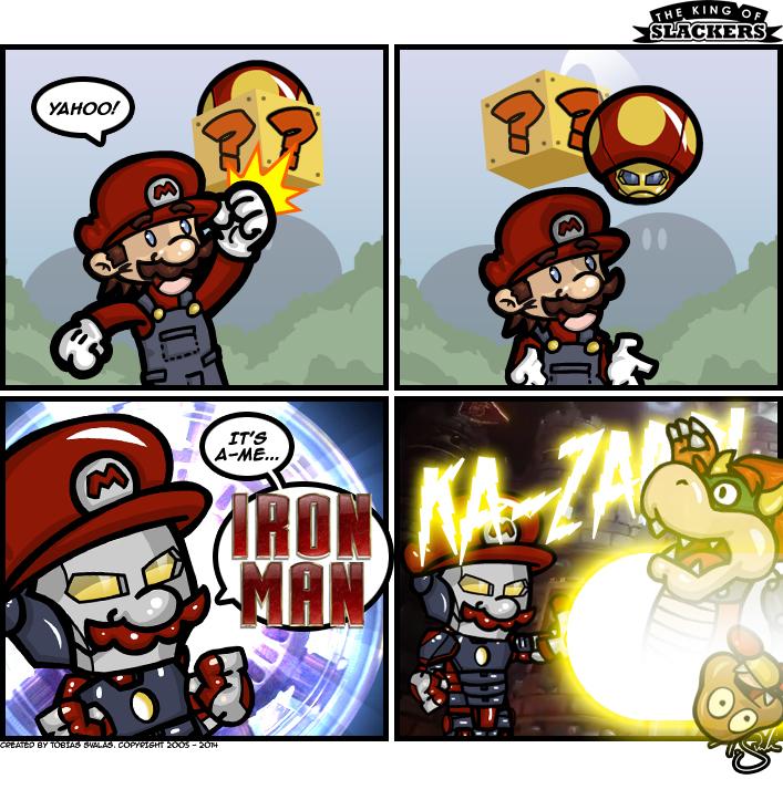 I am Iron Mario!