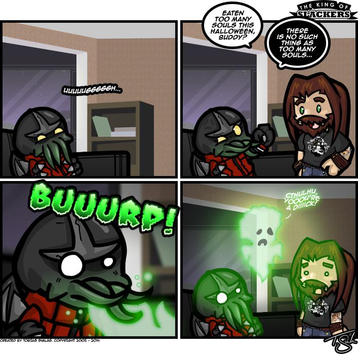 Post Halloween Trauma