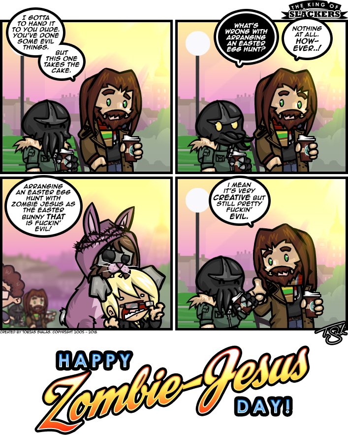 Happy Zombie-Jesus Day 2018!