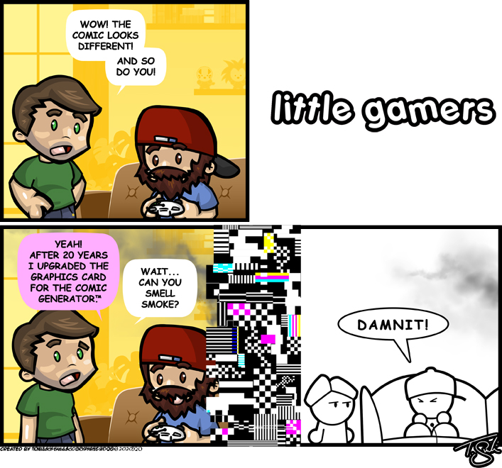Little Gamers Guest Comic 2020!